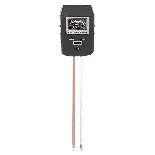 Best Buy! Caiqinlen Planting Soil Tester, Soil Tester, Plastic+Alloy PH Humidity Illuminance Sensor ...