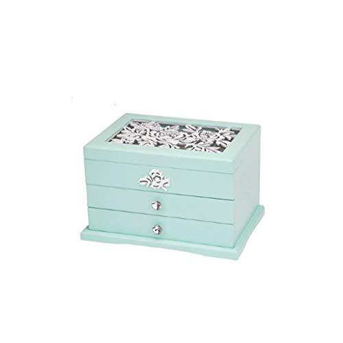 pojhf GYDSSH Caja de joyería, diseño Hueco, Elegante y Delicada Textura, Grosor, Que se Utiliza for Guardar Joyas