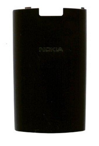 Nokia X3-02 Touch Tapa del compartimiento de la batería, Battery Cover C-Cover original Dark Metal