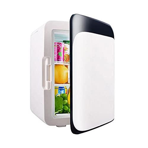 10L Mini Refrigerador, Temperatura Regulable Nevera Silenciosa para Hotel Con Función de Frío y Calor, Bajo Consumo, Ningun Ruido Mininevera, para Hogar Aire Libre Camping, Viajes(32x25x24.5cm)