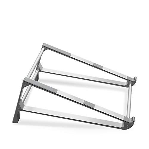BECCYYLY Rack de computadora Aleación de Aluminio Soporte Vertical para computadora portátil Soporte para Tableta de Escritorio Soporte para teléfono de Escritorio