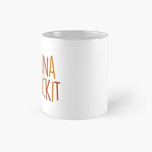Taza clásica Hakuna Mafuckit   El mejor regalo divertidas tazas de café de 325 ml
