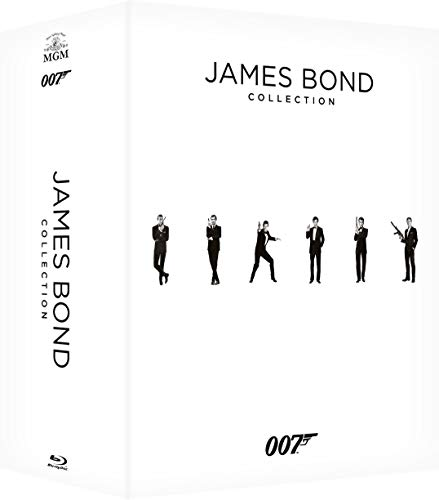 James Bond Complete Collection - 24 Film  - Exclusiva Amazon  (24 Blu Ray)