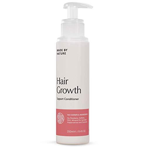 Revitalisant de soutien de croissance de cheveux – fait par MADE BY NATURE revitalisant fortifiant – traitement profond pour les cheveux endommagés – formule entièrement naturelle sans parabènes