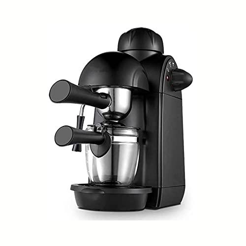 Ekspres do kawy, 5bar maszyna do espresso, gospodarstwo domowe mała stal nierdzewna Pół-automatyczny pompa parowa ciśnieniowa ciśnieniowa producent kawy, z automatycznym urządzeniem reliefowym w górne