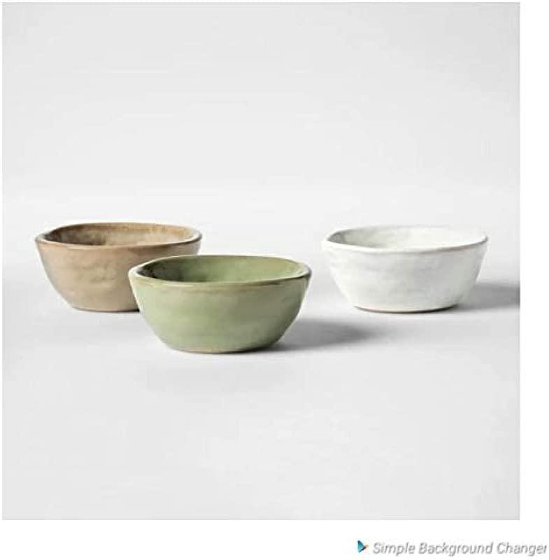 Chrissy Teigen Cravings 3 Stoneware Pinch Bowls 3