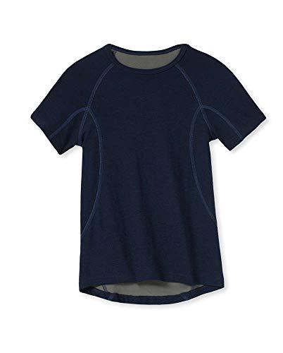 Schiesser Thermo Light T-Shirt 4er Pack Dark Blue 176