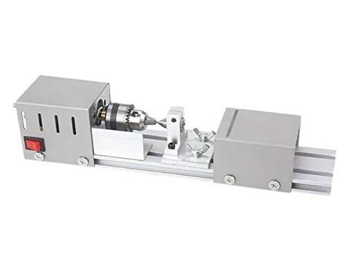Purchase GHGJU Mini Lathe Bead Grinding Machine,Desktop Woodworking CNC Machining,DIY Tool Lathe, Tr...