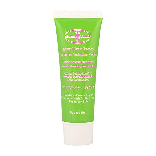 50g de crème blanchissante, crème éclaircissante efficace pour éclaircir les genoux aux aisselles, aux coudes et aux zones sensibles, ainsi que les zones privées sensibles