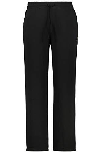 JP 1880 Herren große Größen bis 8XL, Jogginghose, Hose mit elastischem Bund und Saum, 2 Eingrifftaschen, gerade geschnitten schwarz 6XL 702635 10-6XL