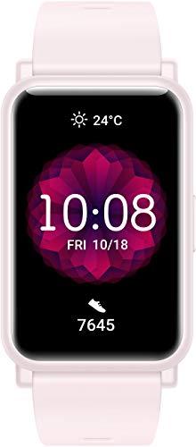 HONOR Watch ES Smartwatch (42mm AMOLED-Display, Herzfrequenzmessung, 50 m wasserdicht, SpO2) Pink