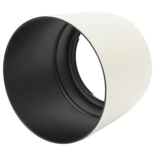 T opiky Parasol para Objetivo, ET ‑ 83C Parasol para Objetivo de cámara Accesorio de fotografía Reversible, para Objetivo para Canon EF 100‑400 mm F / 4,5‑5,6L IS USM (Blanco)