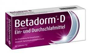 Betadorm D Tabletten,20St