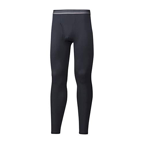 Mizuno Pantalone Termico Nero Uomo Breath Thermo Pantaloni Termici Calzamaglia (l)