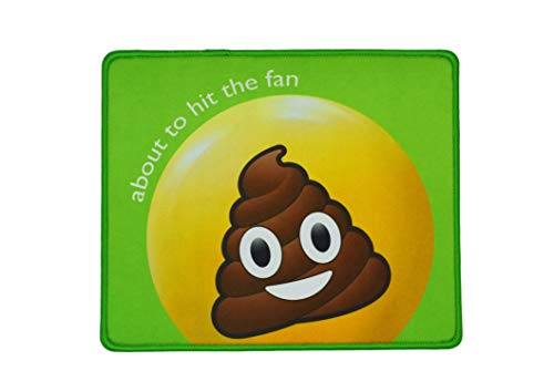 Emoji Mouse Pad Poop-Durable and Comfortable for Home, Office, Children's or Adult