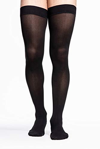 Best black thigh high socks men for 2020