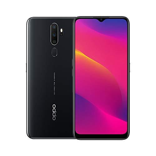OPPO A5 2020 Snapdragon 665 5000 mAh Dual Sim 12 MP Ultra Wide Quad Camera Smartphone, Mirror Black
