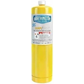 Ez-Flo 85354 Worthington Mapp Pro Gas Fuel Cylinder