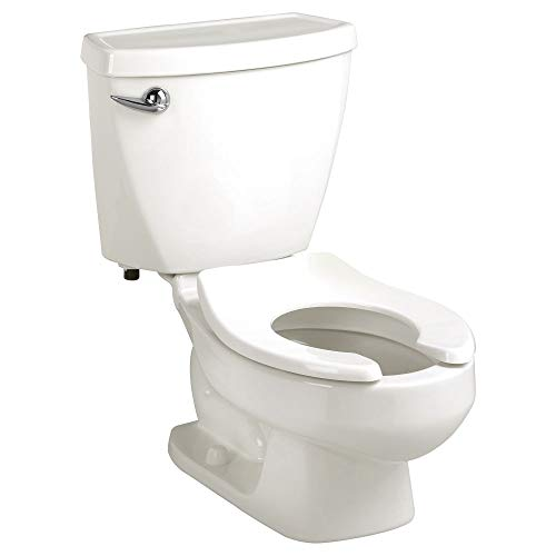 American Standard 2315228.020 Baby Devoro FloWise 10 Inch High Round Front Toilet (Seat is Sold Separately), 1.28 GPF, White