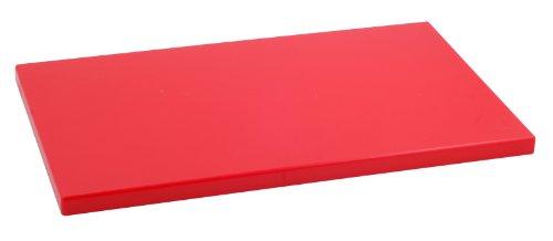Metaltex - Tabla de cocina, Polietileno, Rojo, 50 x 30 x 2 cm