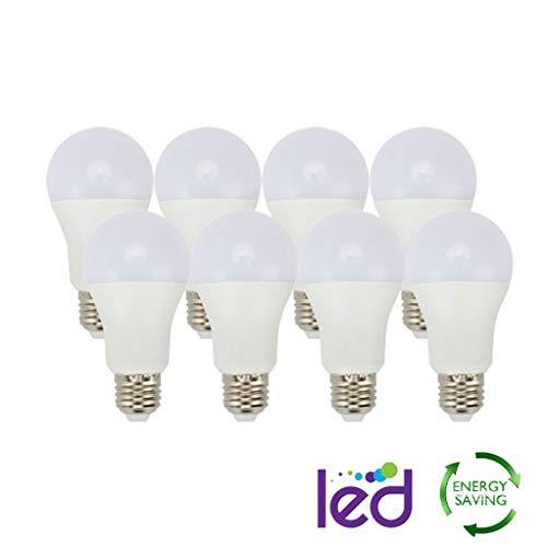 XUENUO LED-lampen, E27, warm, 12 W, 3000 K, standaard fitting, niet dimbaar, 900 lm, stralingshoek 270 °, geen stroboscoop, warm wit licht [energie-efficiëntieklasse A ]
