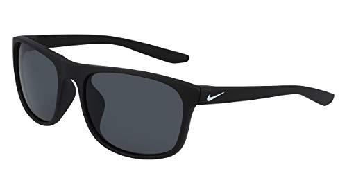 Nike CW4652-010 Endure Sunglasses Matte Black Frame Color, Dark Grey Lens Tint