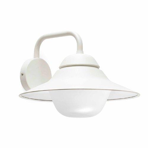 Faro iluminación–SAIL-1applique bianco 1x E2760W