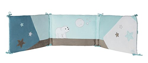 DOMIVA Flocon Tour de Lit l'Ourson 40 x 180 cm