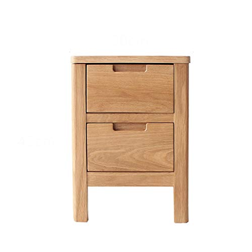 TXXM® Herstellung Nachttisch Schlafzimmer Spind, Schlafzimmer Nachttisch, Wohnzimmer Locker, Wohnzimmer Sofa Seitenschrank Praktische Möbel (Color : Wood Color, Size : 30 * 30 * 45cm)
