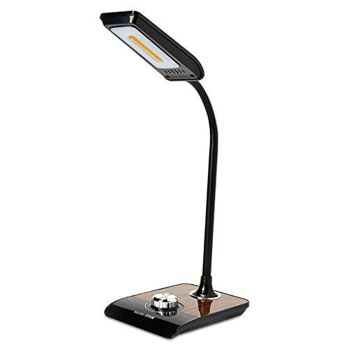 Oficina de lámparas de escritorio Lámpara de lectura LED Desk dormitorio lámpara del trabajo de oficina Smart Touch Plug-in de radio de la lámpara, conveniente for el dormitorio y el Estudio Lámpara d