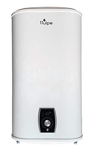 TTulpe TTSMMA50 Smart Master 50 - flacher elektrischer Warmwasserspeicher mit intelligenter Steuerung, 230 V, Weiß