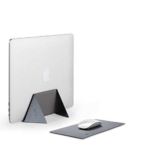MOFTノートパソコン スタンド マウスパッド機能 縦置き 収納 冷却台 折りたたみ式 MacBook Air/Pro 専用