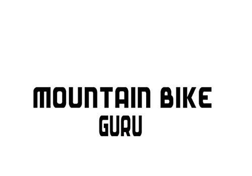 PressFans - Mountain Bike GURU Decal Car Laptop Wall Sticker