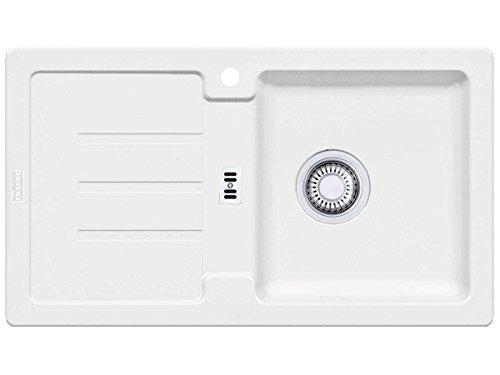 Franke Strata STG 614–78Glacier Granito fregadero blanco fregadero–Fregadero de cocina