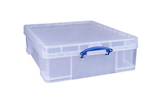 Really Useful Boîte de rangement transparente 70litres