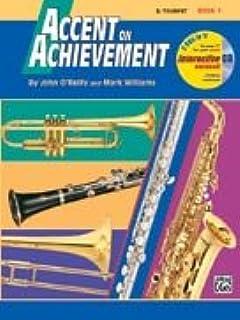Accent on Achievement - Bb Trumpet - Book 1 - Bk+CD