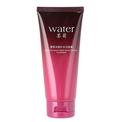 Limpiador facial suave, limpiador facial Control de aceite Reducción de poros Eliminación de puntos negros Lavado facial Limpiador facial