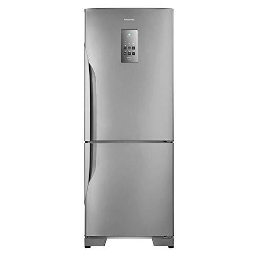 Refrigerador Panasonic BB53PV3X Frost Free 425L Aço Escovado Refrigerador Panasonic BB53PV3XA 110v