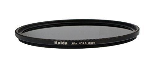 Slim Graufilter ND1000 67mm. Schlanke Fassung + Pro Lens Cap mit Innengriff