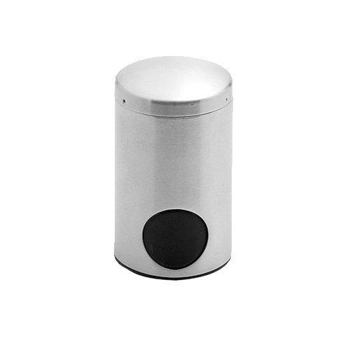 Weis Süssstoff-tabletten Spender Durchmesser 5 cm, Edelstahl, Silber, 5 x 5 x 8 cm