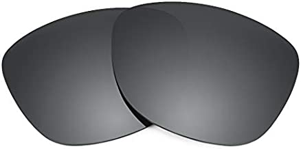 Revant Replacement Lenses Compatible With Oakley Mainlink, Polarized, Black Chrome MirrorShield