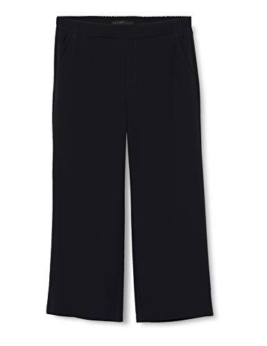 MAC Jeans Damen Chiara Cropped Straight Jeans, Blau (Dark Blue 198), W38 (Herstellergröße: 38/23)