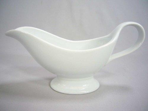 Saucière porcelaine 2 vaporisateurs blanc