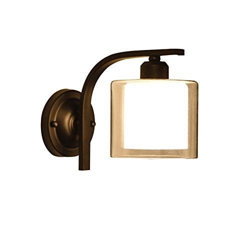 ZWL Applique murale, applique murale moderne de style minimaliste, applique murale E27, porte de la lampe, hôtel, restaurant, café, luminaire de club (ampoules non incluses) mode (taille : #1)