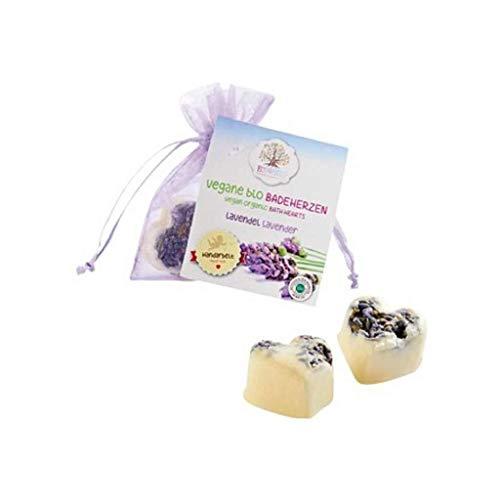 Badeherzen vegan Lavendel