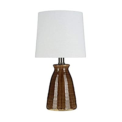 Stone & Beam Table Lamp with Textured Ceramic Base