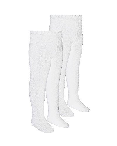 NUOVO 5 Pack GIRL/'S Plain Nero Uniforme Scolastica Cotton Soft Collant 2-13 anni