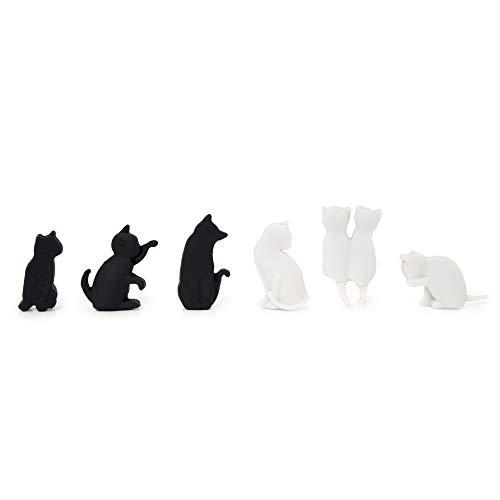 Legami - Meow! Set di 6 Segnabicchieri