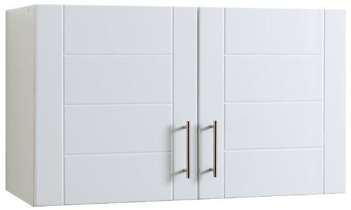 Held Möbel 310.6033 Hängeschrank 2-türig / 1 Einlegeboden / Hochglanz-weiß
