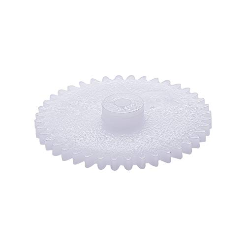 Othmro 402A Plastic Gear White 40 Teeth 0.5 Modulus Model Craft Gears for Science Homework Assembled Toy Model KIT-Set DIY RC Car Robot Motor 20pcs Joint Components Model Replacement Gears